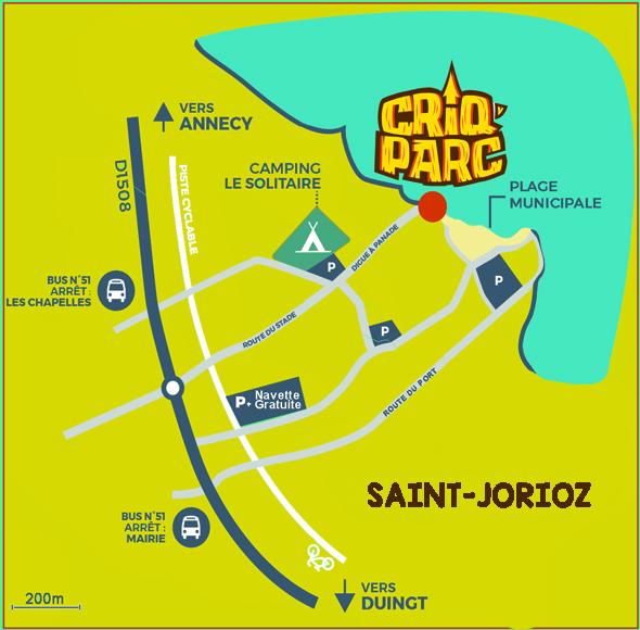Plan Saint Jorioz